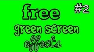 Top 50 Green Screen Effectz Pack  For Youtube Videos
