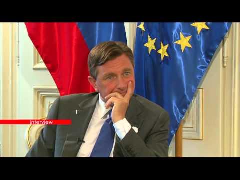 Sanela Prašović Gadžo  -   Interview 20   Borut Pahor