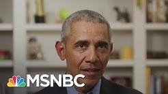 Barack Obama Endorses Biden, Reminds Voters What's At Stake | Deadline | MSNBC