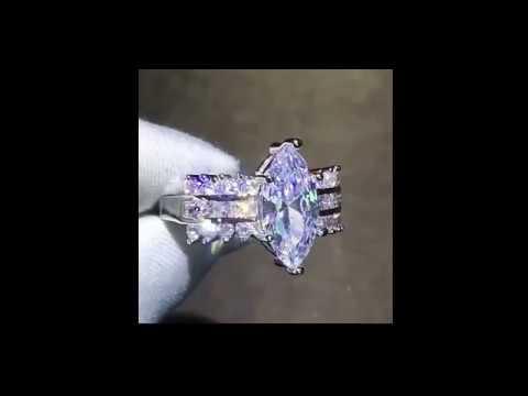 marquise-cubic-zirconia-wedding-sets