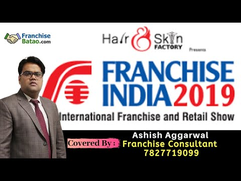 Franchise India Expo 2019 Live From Pragati Maidan, Delhi With Ashish Aggarwal | Franchise Business