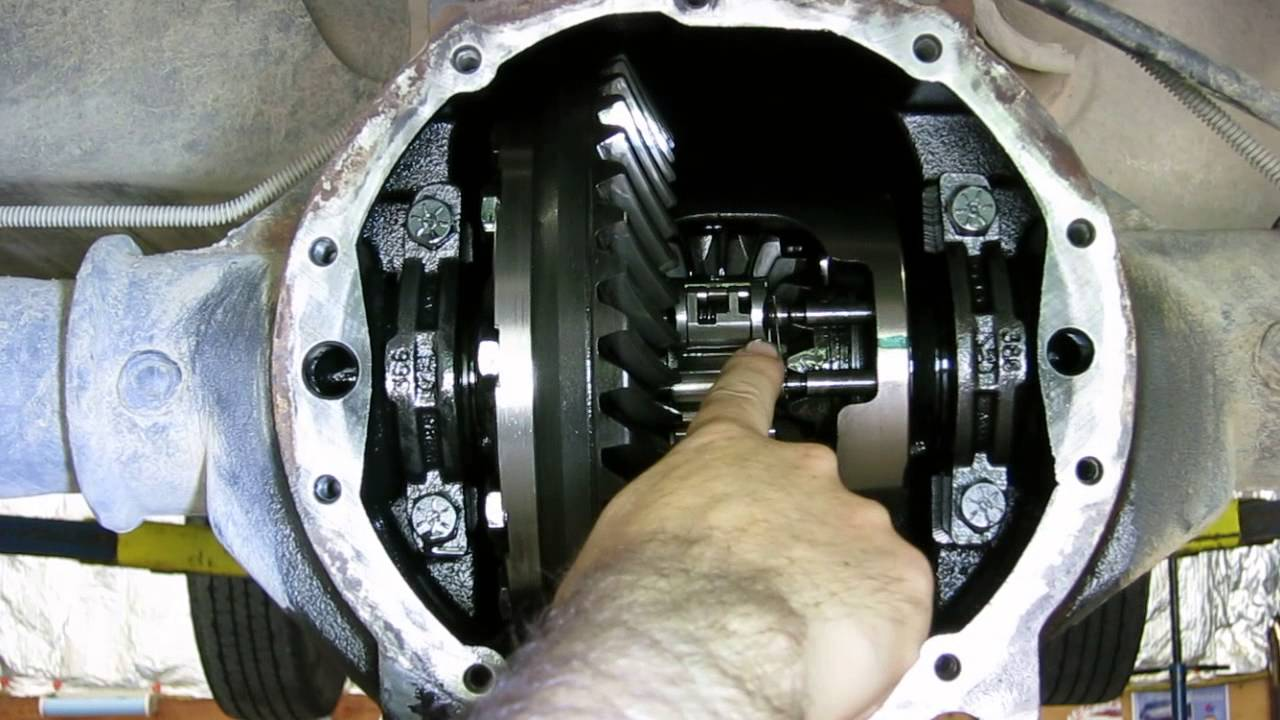 GM locking differential - how it works - YouTube