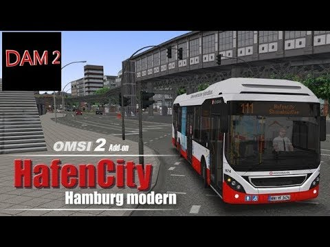 OMSI 2 |  HAFEN City Hamburg Modern (Présenation de la map)  - FR