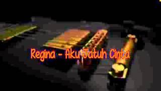 Aku Jatuh Cinta   Regina  Video Lirik