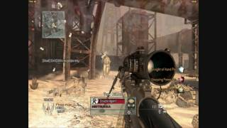 The most awesome sniper scope in the hole of Modern Warfare 2!!!!!!!!!!!