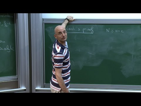 Camillo DE LELLIS - The h-principle and a conjecture of Onsager in fluid dynamics