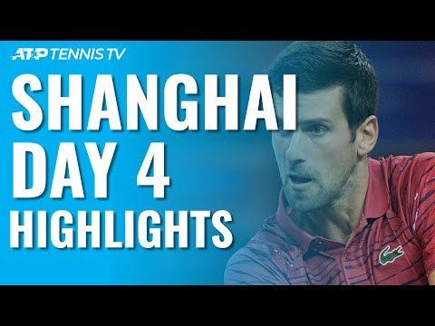Djokovic Eases Past Shapovalov; Zverev, Tsitsipas, Thiem Progress | Shanghai 2019 Day 4 Highlights