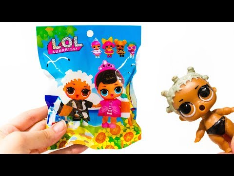 КИТАЙСКИЙ ЛОЛ В ПАКЕТИКАХ Дешевая Кукла Шар LOL ПОДДЕЛКА Из Китая