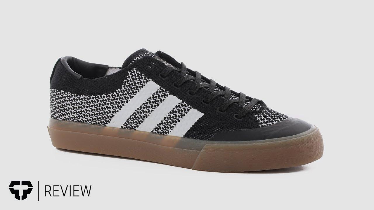 add8b124a915 Adidas Matchcourt Prime Knit Skate Shoes Review - Tactics.com - YouTube