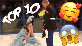 Top 10 best HEARTWARMING military homecomings