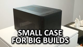 Fractal Design Core 500 - Space saver with lots of potential