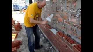 облицовка стен клинкерным кирпичом(, 2015-04-24T15:48:39.000Z)