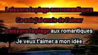 Pascal Danel - La Plage Aux Romantiques (Karaoke)