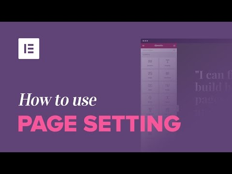 How to Use Page Settings to Control Useful WordPress Settings [+Blank Canvas Template]