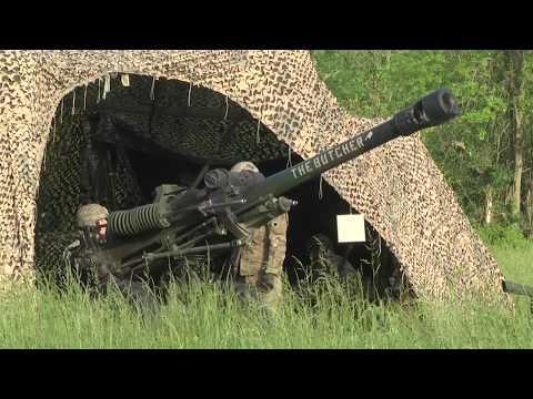 1-134th Field Artillery Regiment live fire exercise