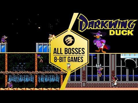 Darkwing Duck – All Bosses / Чёрный плащ – Все Боссы | Dendy 8-bit | NES