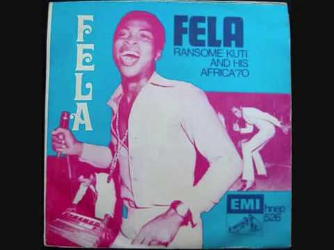 Fela Ransome Kuti Africa 70 The Alagbon Close
