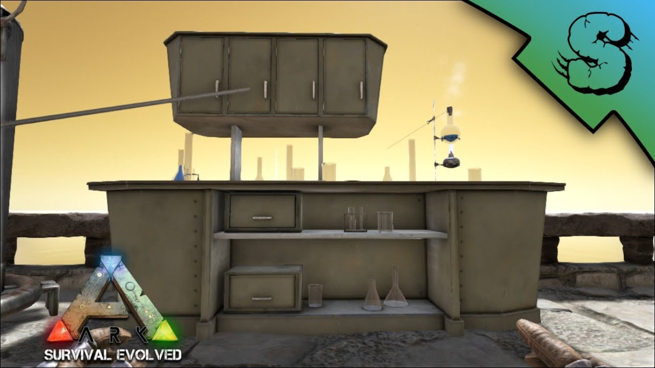Chemistry Bench Tutorial  Ark Survival Evolved  YouTube