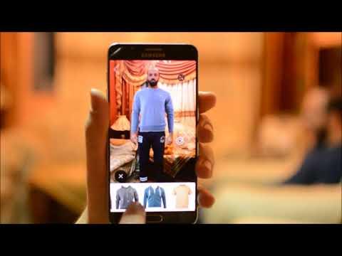 Mobile Virtual Fitting Room App
