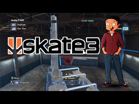X7 Albert Fantasy Factory - Episode 5 (Skate 3 Park Builder)
