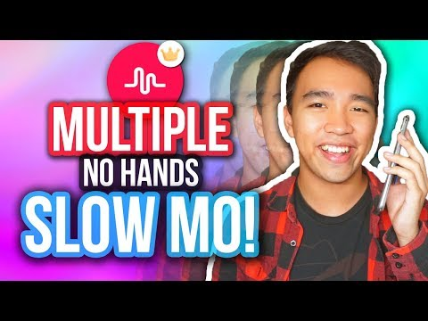 MUSICAL.LY VELOCITY TRANSITION TUTORIAL! (Multiple SlowMo!) *NEW*