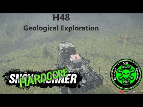 SnowRunner Hardcore H48   Geological Exploration