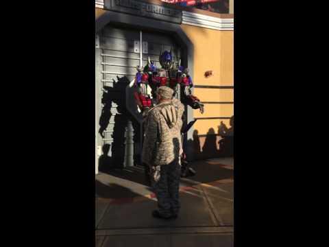 Optimus Prime @Universal Studios