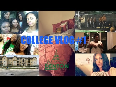 College Vlog #1 | MOVE-IN DAY, FIRST APARTMENT, KERRBEACH2K16
