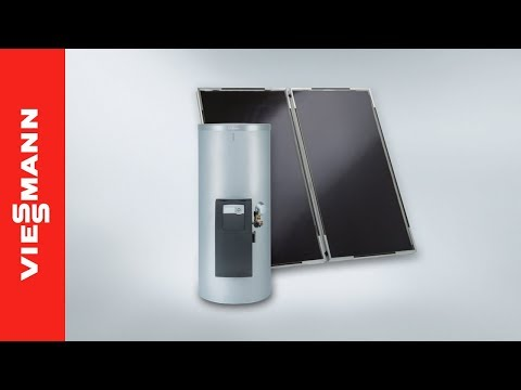Introduction to the Vitosol DHW Solar Pack