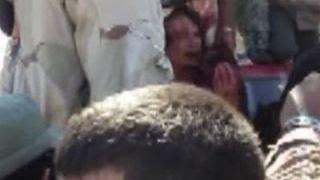 В Сети появилось новое видео расправы над Каддафи