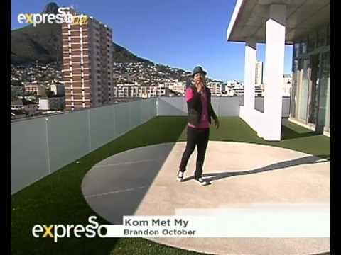 "Brandon October's ""Kom met my"" on eXpresso"