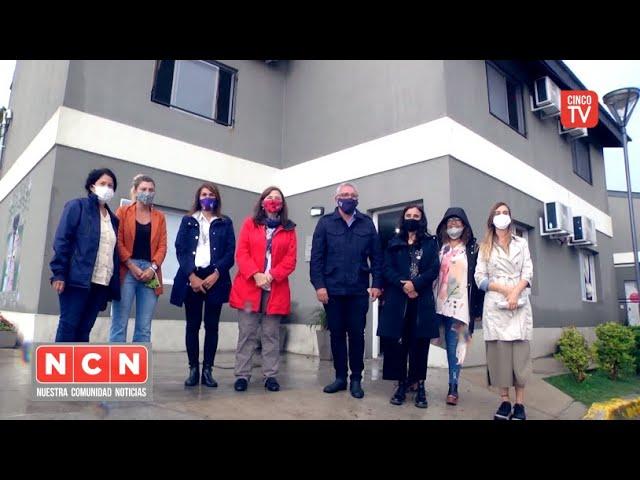 CINCO TV - Julio Zamora y Estela Díaz recorrieron las Casas Convivenciales en El Talar