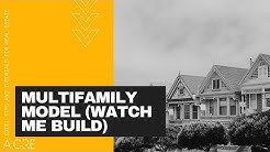 Watch Me Build a Multifamily Real Estate Model