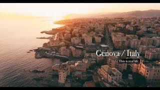 CINQUE TERRE & GENOA (Genova) Italy -  by drone 🚁