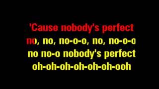 J., Jessie - Nobody's Perfect. ( KARAOKE , MUZIEKBAND)