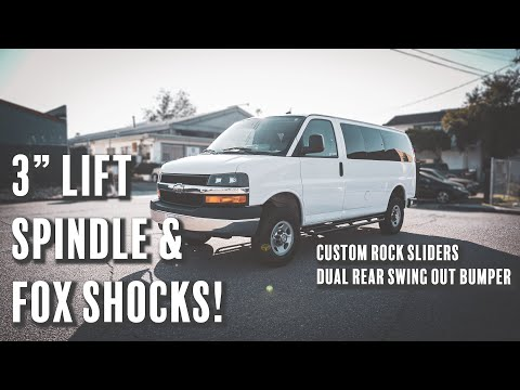 """Chevy Express Van 3"""" Lift Spindle"""