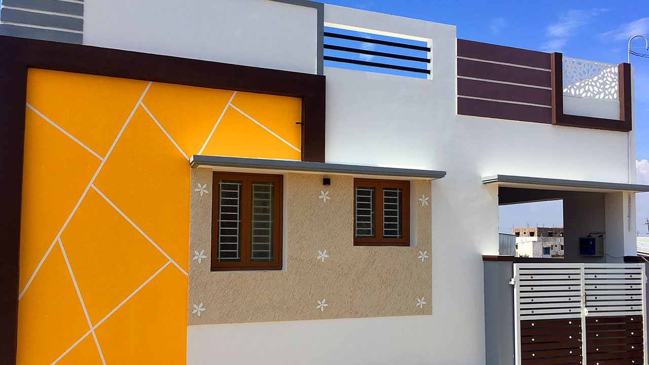 அழகான 2BHK வீடு / New 2BHK House for Sale / East Facing / 1100 Sft / #justinform / VH200