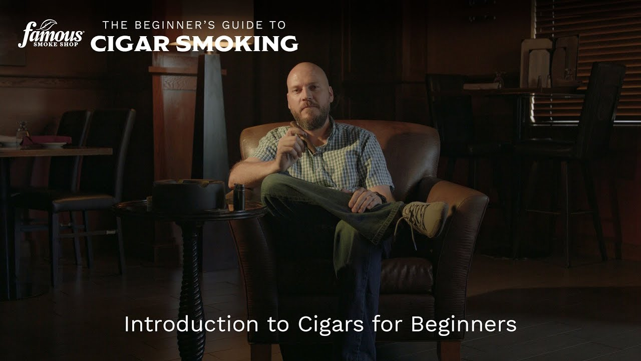 cigars for beginners introduction famous smoke shop