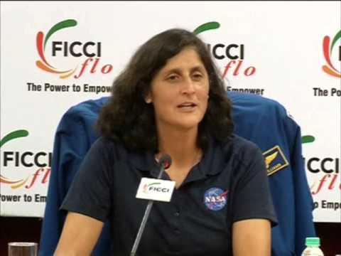 NASA astronaut Sunita Williams calls on Indian women to pursue their dreams