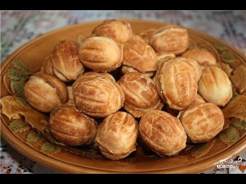 Орешки со сгущенкой. Классический пошаговый рецепт домашней выпечки