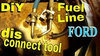 2001 Ford Van Truck Fuel Pump FUEL LINE DISCONNECT TOOL  disconnect fuel lines FORD E250 F250 DiY