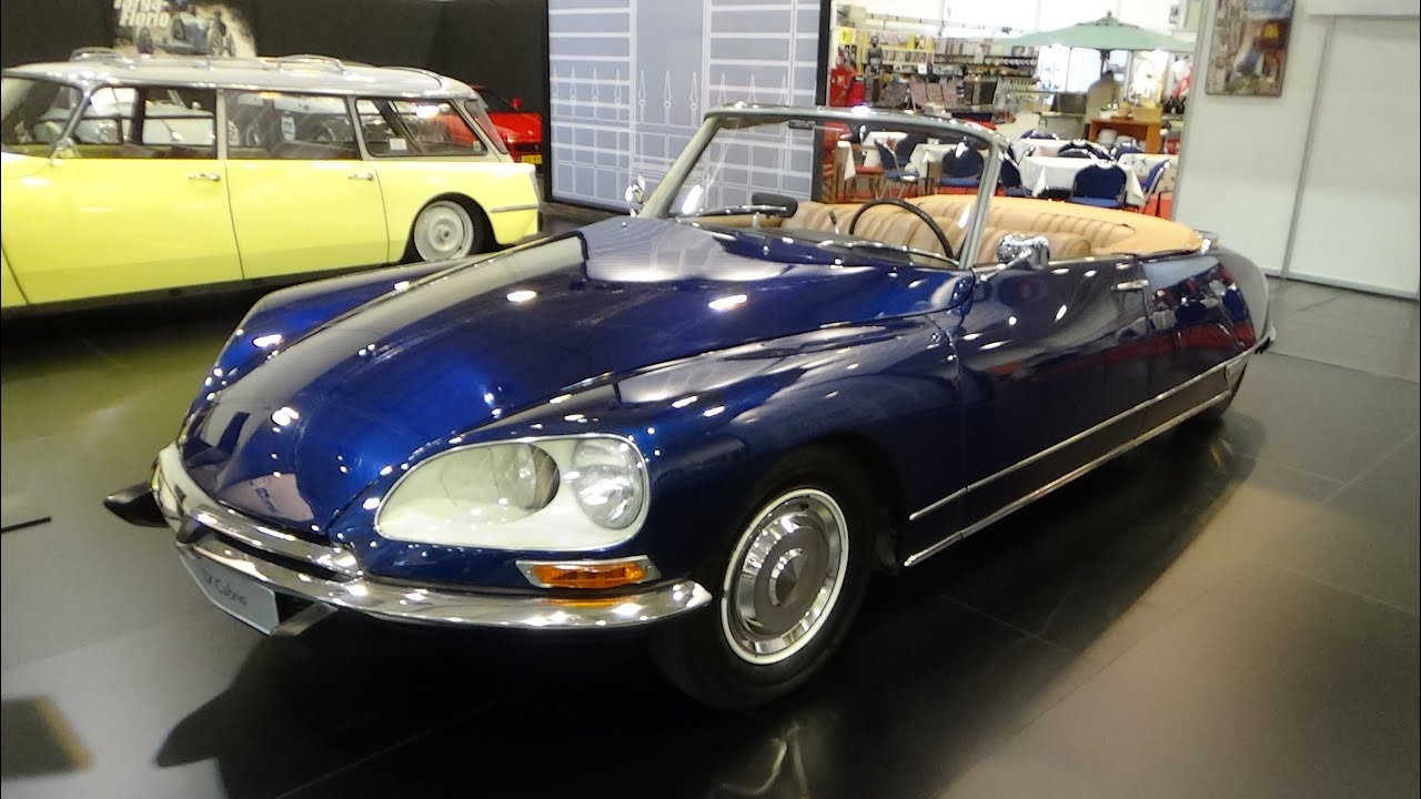 1967 citroen ds 21 dx cabrio exterior and interior techno classica essen 2015 youtube