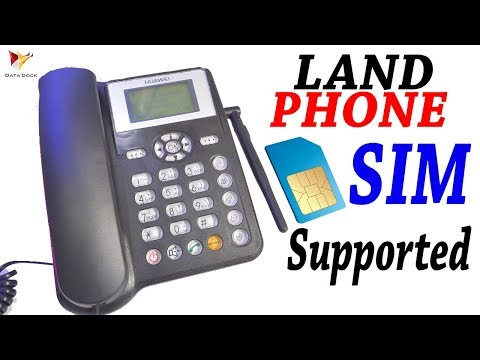 Huawei ETS 5623 GSM Land Phone Unboxing and Review | Data Dock