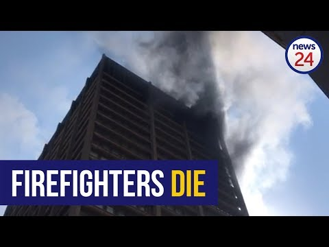 WATCH: Three firefighters confirmed dead following Johannesburg building fire