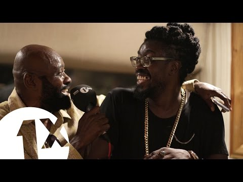 Beenie Man, Lt Stitchie & Josey Wales at King Jammy s studio Jamaica