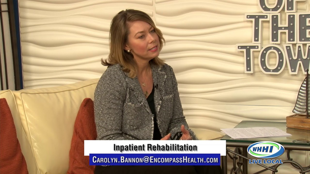 TALK OF THE TOWN | Renee Bannon, Encompass Health Rehabilitation Hospital |  WHHITV