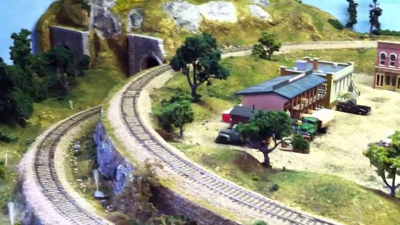 Mike's River Pass Layout - YouTube