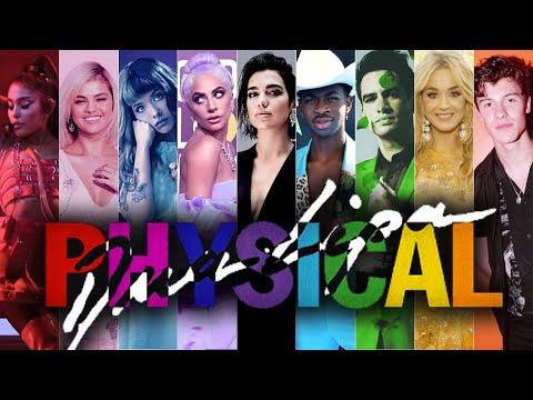 PHYSICAL   The Megamix ft. Dua Lipa, Ariana Grande, Lil Nas X, Panic! At The Disco, and more