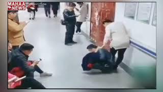 Husband Turns Himself into a Chair for Wife | China | MAHAA NEWS
