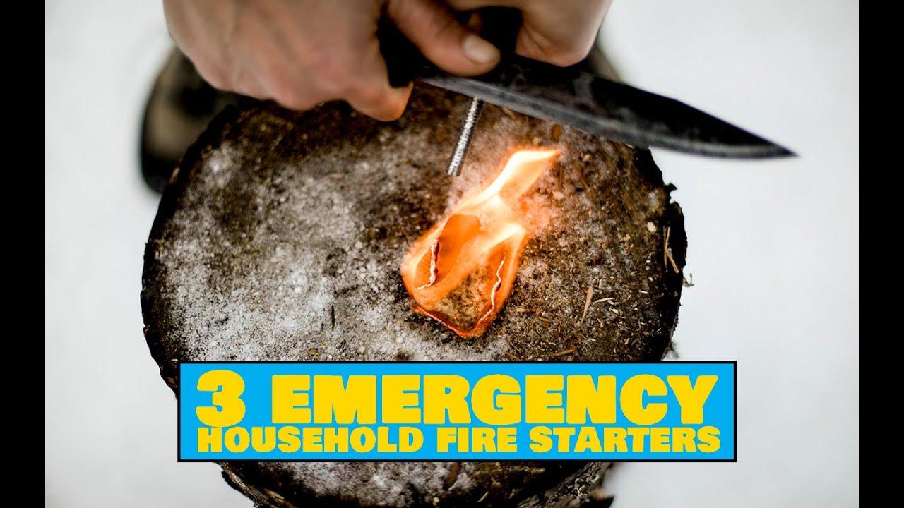 Emergency Household Fire Starters / Käepärased tulehakatused - Easy Outdoors Tips